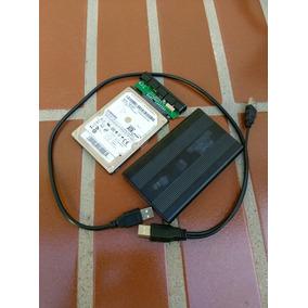Disco Duro 160 Gb Samsung + Case Portatil C/ Cable Disc Duro