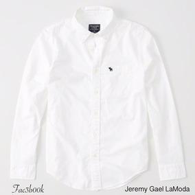 Abercrombie Original Camisas Poplin Icon Estilo Nuevos