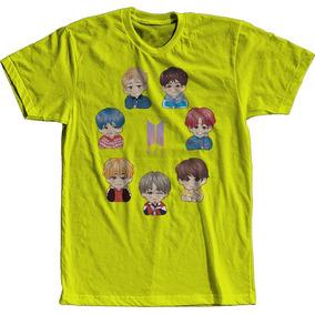 Camisa Camiseta Unissex Bts Kpop Todos Integrantes Degrade 2 1f03a0b9f6fa8