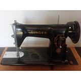 Singer 15c Máquina Costura Antiga Funcionando (1954)
