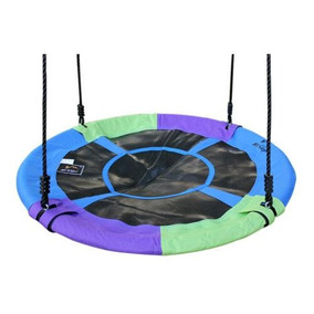 1 * Blue 40 Mixed-color Saucer Nest Tree Swing - Gigan-7258