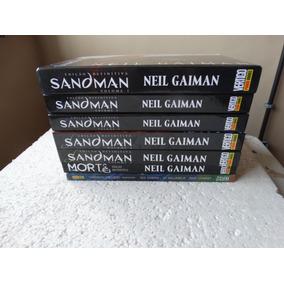 Sandman Edição Definitiva 1 A 5 + Morte + Prelúdios E Box!
