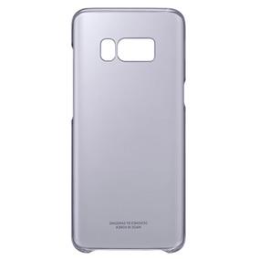 Protector Clear Cover Violeta Galaxy S8+ Samsung