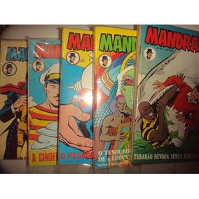 Lote Mandrake 80 Edições 241 A 325 Rge Otimas Sem Repeticoes