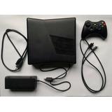 Xbox 360 Slim En Perfecto Estado Con 3 Juegos Originales