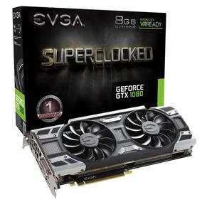 Placa De Video Evga Gtx 1080 Sc Gaming 8g Gddr5