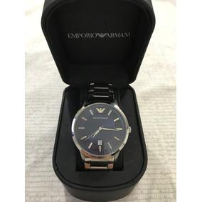 7c042b82f11 Relogio Emporio Armani Ar 0206 Semi Novo Com Caixa - Relógio ...