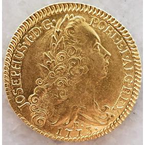 Moeda De Ouro 6400 Réis Ano 1773 R