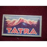 Antigua Hoja Afeitar Tatra