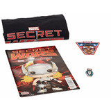 Secret Wars Marvel Corps Comic + Playera M + Parche + Pin