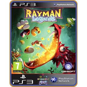 Ps3 Rayman Legends | Mídia Digital | Leg. Português Br