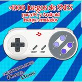 Coleccion + 1000 Juegos Snes Pc Y Android Incluye Emulador