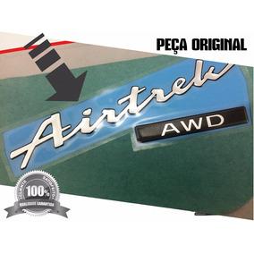 Emblema Adesivo Airtrek + Awd Pajero Mitsubishi - Original