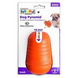 Brinquedo Cachorro Pirâmide Dispenser De Alimentos Pequeno