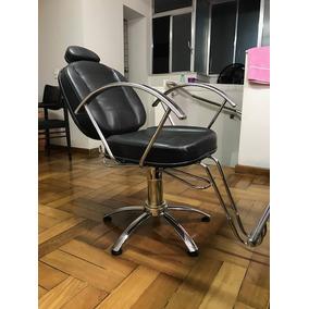 Cadeira De Maquiagem Reclinável De Couro