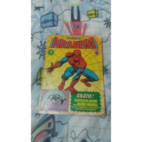 Homem Aranha N.1 - 1983 Da Abril - Raro E Original
