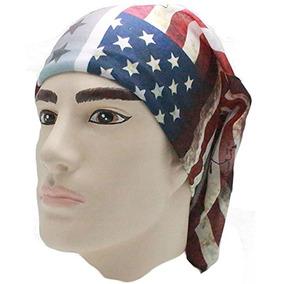 82fce9636b07f Bandera Americana Bandana Cabeza Us Pañuelo Para Hombres Usa