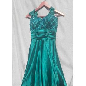 54c7d5ce9 Vestido Corte Princesa - Vestidos de Mujer Verde en Mercado Libre ...