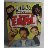 Dvd Box My Name Is Earl 3ª Temporada Lacrado Fabrica 4 Disco