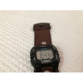 Timex Reloj Con Extensible Piel Fósil Muy Bueno Aún