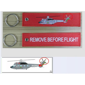 10 Chaveiros Remove Before Flight- Super Puma Ou Cougar