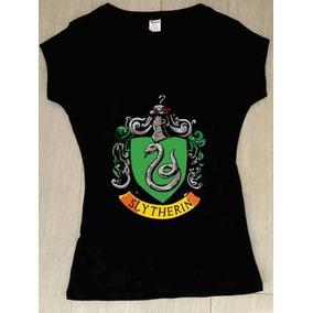 Playera De Harry Potter Slytherin en Mercado Libre México 3f3f4e57f7b38