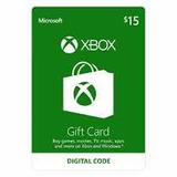 Tarjetas Xbox Live Cuenta Usa 15$ De Saldo