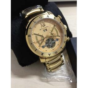 844ed9a6a8823 Relogio Bvlgari Automatico Dourado - Relógio Bvlgari Masculino no ...