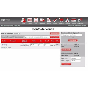 Sistema De Vendas - Pdv - Web + Codigo Fonte Php
