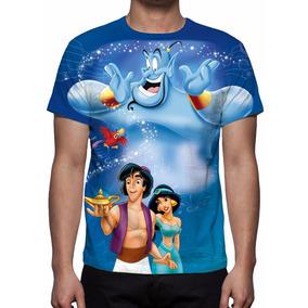 Camisa, Camiseta Disney Aladdin Mod 02 - Estampa Total