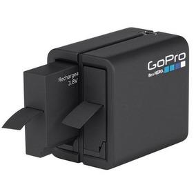 Carregador Dual + Bateria P/ Gopro Hero 5/6 Black Aadbd-001