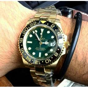 3410260c1d82b Relogio Rolex Gmt Ii Dourado - Relógios De Pulso no Mercado Livre Brasil