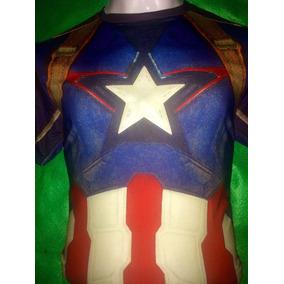 Playera Capitán America Under Armour Avengers Envio Gratis