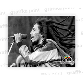 Poster Bob Marley #2 40x30cm Papel Couche 300g