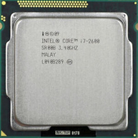 Processador Lga 1155 Core I7 2600 3.40 Ghz 8mb + Nota