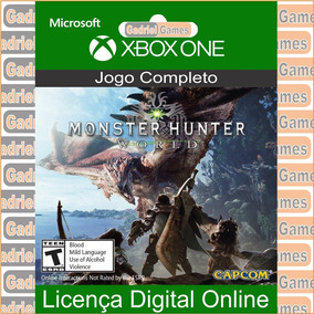 7dfd2c09905 Monster Hunter World Xbox One Midia Digital - Games no Mercado Livre ...