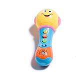 Juguete Micrófono Proyector Musical Infantil Luces +3años