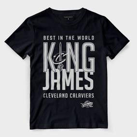 Camiseta Lebron James Cleveland Cavaliers Mvp Preta Camisa 0f31e30942bc5