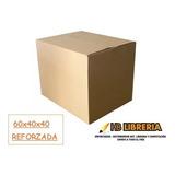 Caja Carton Mudanza Embalaje 60x40x40 Reforzada Premium