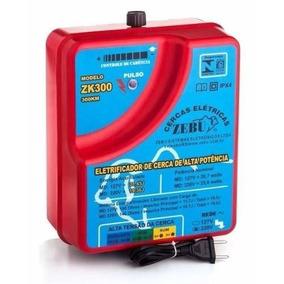 Eletrificador Cerca Rural Zk300 Zebu 300km