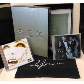 Box Madonna Sex: Livro Sex, 2 Cds Inéditos E Toalha Assinada