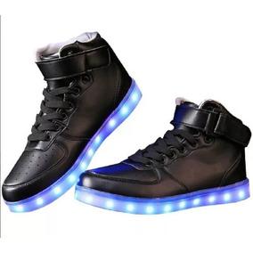 Zapato Tenis Led Usb Recargable Garantía 3 Meses