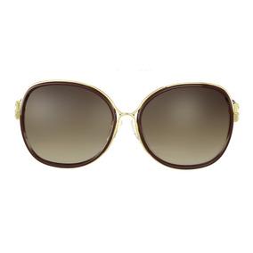 ec7b3f86c1fe1 culos De Sol Ana Hickmann Ah 3091 Dourado - Óculos no Mercado Livre ...
