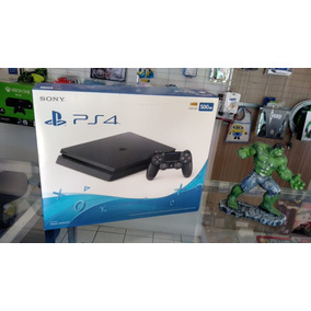 Ps4 Playstation 4 Slim 500gb Sony Bivolt