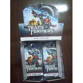 Caixa De Cards Transformers Dark Of The Moon - 48 Packs