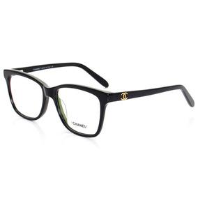 Armação Óculos Chanel Preto Cc Outras Marcas - Óculos no Mercado ... 7efba5b374