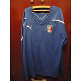 Camisa Da Seleção Italia Manga Longa no Mercado Livre Brasil 9650f280816e8