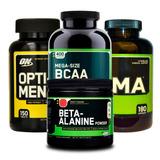 Combo Opti-men 150 + Bcaa 400 + Zma 180 + Beta-alanine On