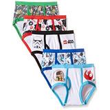 Star Wars Little Boys X26 39 Lego Star Pack De 5 Calzoncill