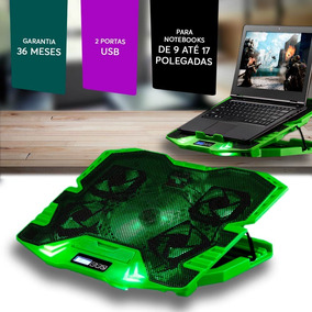 Power Cooler Gamer Para Notebook Led Multilaser Ac292